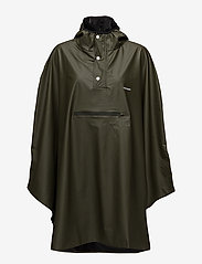 Tretorn - PU LIGHT RAINPONCHO - jackor & rockar - forest green - 0