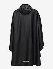 Tretorn - PU LIGHT RAINPONCHO - manteaux de pluie - jet black - 1