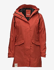 Tretorn - WOMENS RAIN JACKET FROM THE SE - parki - 052/gunwale red - 0