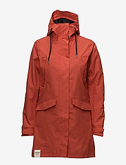 Tretorn - WOMENS RAIN JACKET FROM THE SE - parki - 052/gunwale red - 1