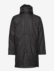 Tretorn - WINGS MONOCROME PADDED - manteaux de pluie - 011/jet black - 2