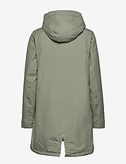 Tretorn - RAIN JKT FROM THE SEA PADDED W - parki - 061/seagrass - 2