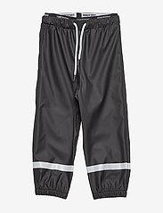 Tretorn - KIDS EXPLORER RAINPANTS - trousers - 011/jet black - 0