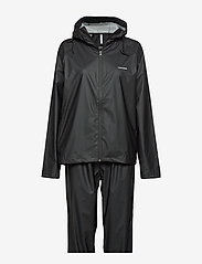 Tretorn - PACKABLE RAINSET - manteaux de pluie - 010/black - 1