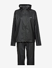 Tretorn - PACKABLE RAINSET - manteaux de pluie - 010/black - 2