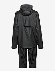 Tretorn - PACKABLE RAINSET - manteaux de pluie - 010/black - 3