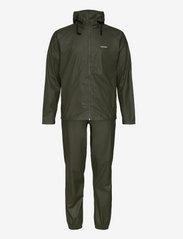 Tretorn - PACKABLE RAINSET - manteaux de pluie - 067/forest gree - 0