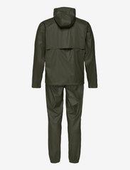 Tretorn - PACKABLE RAINSET - manteaux de pluie - 067/forest gree - 3
