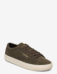 Tretorn - TOURNAMENT SUEDE - baskets basses - 049/dark olive - 0