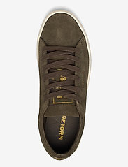 Tretorn - TOURNAMENT SUEDE - baskets basses - 049/dark olive - 3