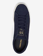 Tretorn - TOURNAMENT SUEDE - låga sneakers - 080/navy - 3