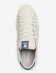 Tretorn - TOURNAMENT LOW OCEAN NET - låga sneakers - 043/chalk/stone - 3