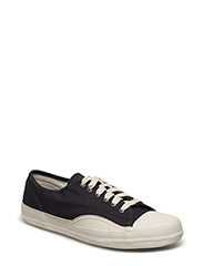 RACKET H LOW CANVAS - JET BLACK