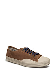 RACKET H LOW SUEDE - CHIPMUNK