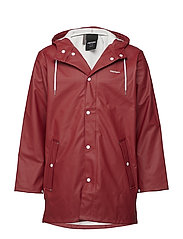 WINGS RAINJACKET - 059/OAK RED