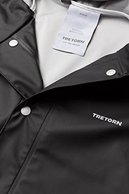 Tretorn - WINGS RAINJACKET - regnjackor - black - 2
