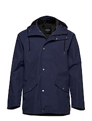 WINGS WOVEN JACKET - 080/NAVY