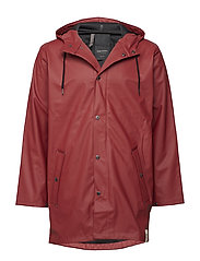 WINGS PLUS RAINJACKET - 059/OAK RED