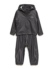 KIDS PACKABLE RAINSET - 010/BLACK