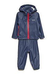 KIDS PACKABLE RAINSET - 080/NAVY