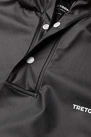 Tretorn - PU LIGHT RAINPONCHO - manteaux de pluie - jet black - 2