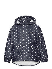 KIDS WINGS RAINCOAT - 087/NAVY/DOT