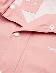 Tretorn - KIDS WINGS RAINCOAT - vestes - 099/light rose - 1