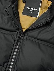 Tretorn - BAFFLE VARSITY - veste rembourrée - 010/black - 2
