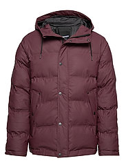 BAFFLE JACKET - 090/PLUM