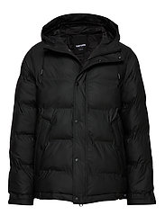 BAFFLE JACKET - BLACK