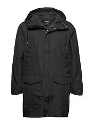 MENS RAIN JACKET FROM THE SEA - 014/DEEP END BL