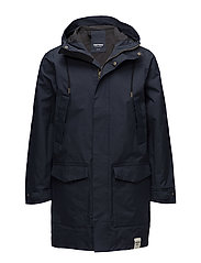 MENS RAIN JACKET FROM THE SEA - 017/HULL BLUE