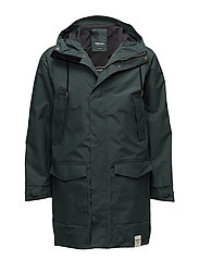 MENS RAIN JACKET FROM THE SEA - 024/KELP GREEN