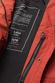 Tretorn - WOMENS RAIN JACKET FROM THE SE - parki - 052/gunwale red - 6