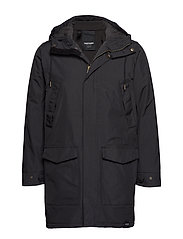 RAIN JKT FROM THE SEA PADDED M - 014/DEEP END BL