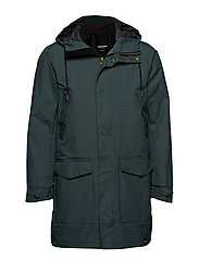 RAIN JKT FROM THE SEA PADDED M - 024/KELP GREEN