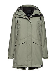 RAIN JKT FROM THE SEA PADDED W - 061/SEAGRASS