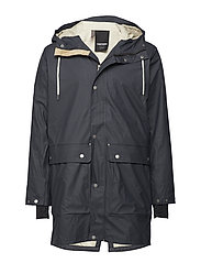 EVALD 2.0 RAINCOAT - 084/DARK NAVY