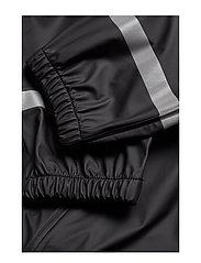 Tretorn - KIDS EXPLORER RAINPANTS - pantalons - 011/jet black - 3