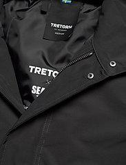 Tretorn - OCEAN NET PARKA MEN - parkas - 011/jet black - 5