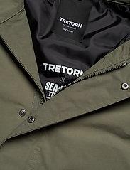Tretorn - OCEAN NET PARKA MEN - parkas - 063/field green - 6