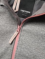 Tretorn - SAREK SOFTSHELL JKT - softshell jassen - 045/grey melang - 3