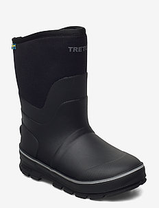 ABISKO JR - rubberboots - 010/black