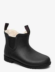 KIDS CHELSEA WINTER - rubberboots - 010/black