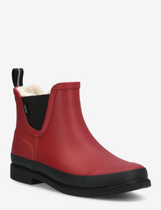 EVA W - warm lined boots - 054/autumn red/
