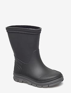 AKTIV - bottes en chaouthouc - black