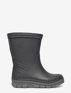 AKTIV - unlined rubberboots - black