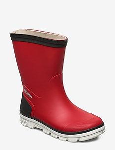 AKTIV - bottes en chaouthouc - red/grey