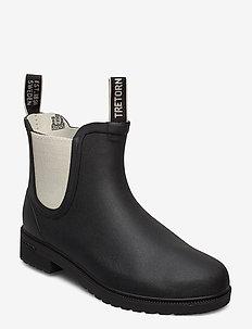 CHELSEA CLASSIC - gummistøvler - 015/black/sand