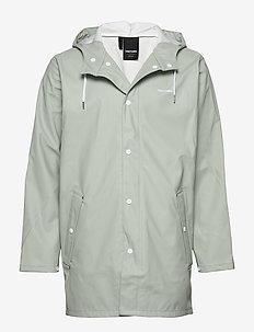 WINGS RAINJACKET - jakker og frakker - 069/shadow gree
